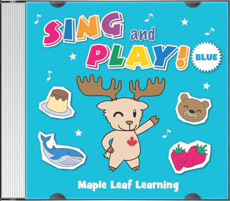 Sing and Play Blue CD