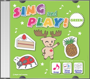Sing and Play Green CD