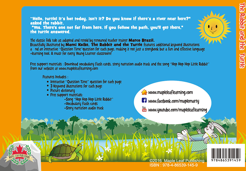 The Rabbit and the Turtle Back Cover