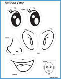Balloon Face Activity