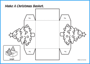 Christmas Basket Craft