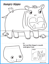 Hungry Hippo Activity