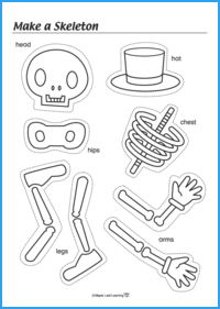 Make a Skeleton Activity