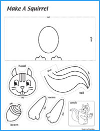 Make a Squirrel Activity