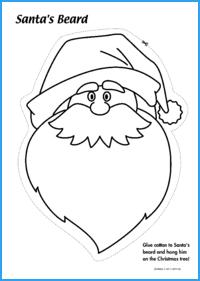Santa's Beard Activity