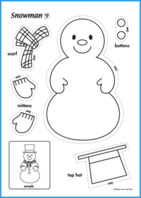 Snowman Activity