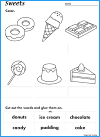 Sweets Activity