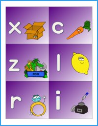 Alphabet Sounds Flashcards (Color)