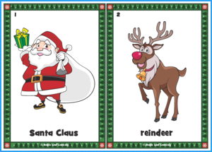 Christmas Flashcards