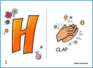 H.A.P.P.Y. Song Flashcards