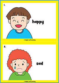 How Are You Today? Song Flashcards
