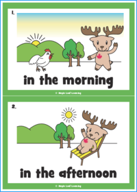 Skidamarinkidink Song Flashcards