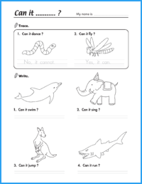 Can It…? Worksheet