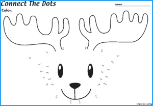 Connect-the-Dots Marty Worksheet