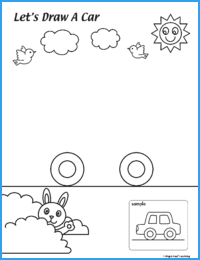 Draw a Car Worksheet