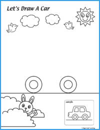 Draw a Car Worksheet