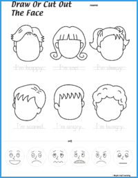 Draw the Faces Worksheet