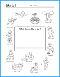 Like to…? Worksheet