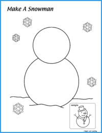 Make a Snowman Worksheet