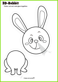 3D Rabbit Craft