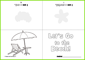 Beach Mini-Book