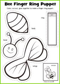 Bee Ring Craft