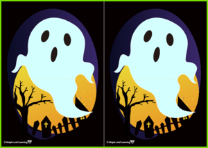 Colorful Ghosts Activity