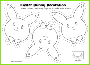 Easter Decoration Activity