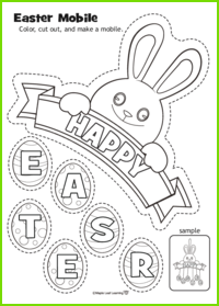 Easter Mobile Activity