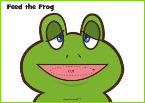 Feed the Frog Activity