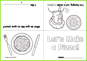 My Pizza Worksheet