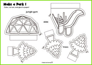 Make a Park Craft
