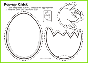 Pop-Up Chick Activity