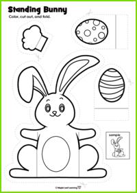 Standing Bunny Craft