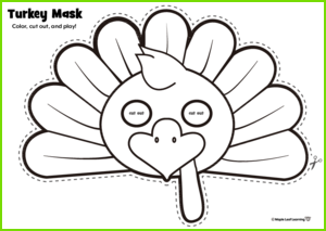 Turkey Mask Activity