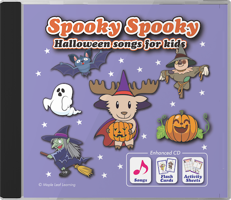 Spooky Spooky Halloween Songs for Kids CD