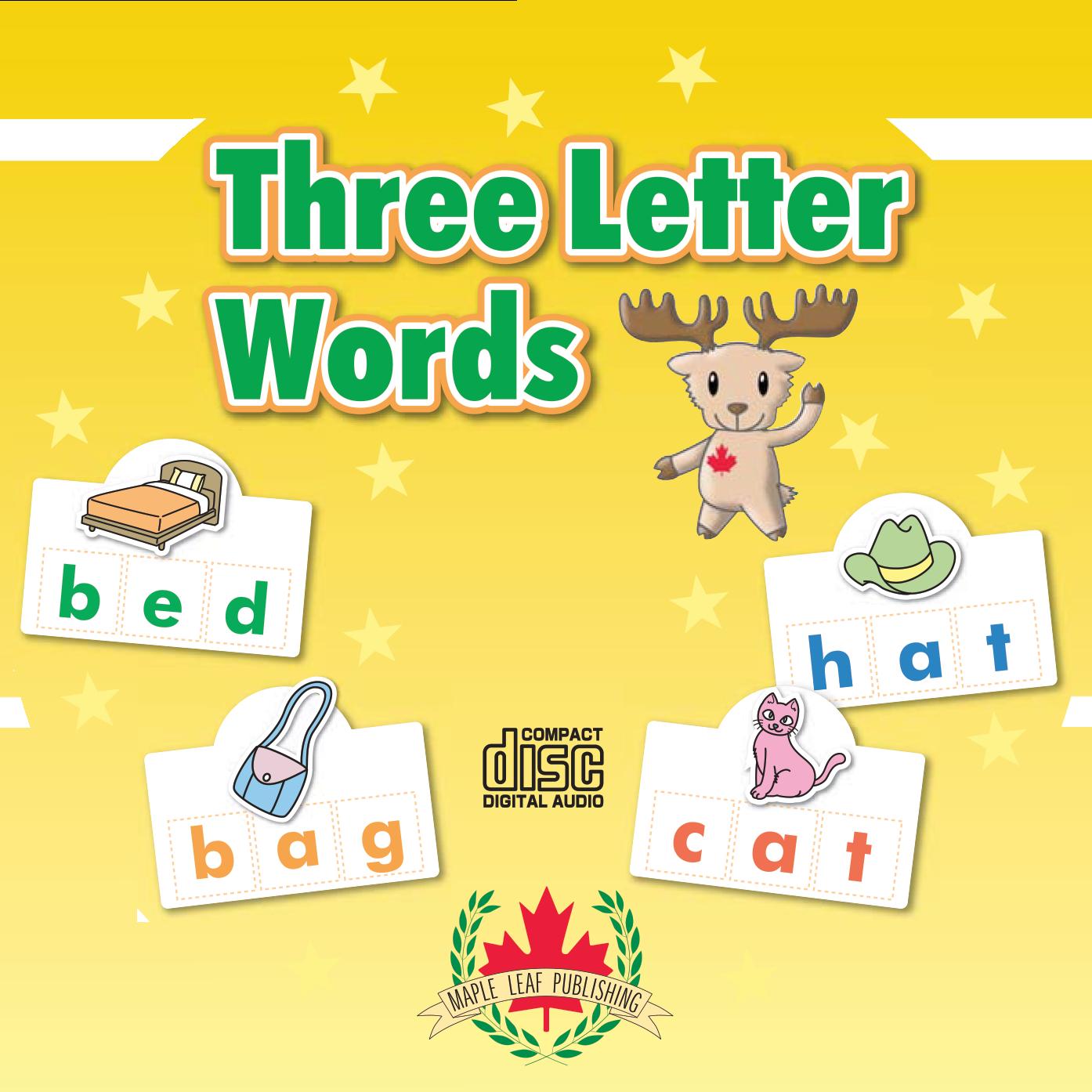 Three Letter Words Companion Audio