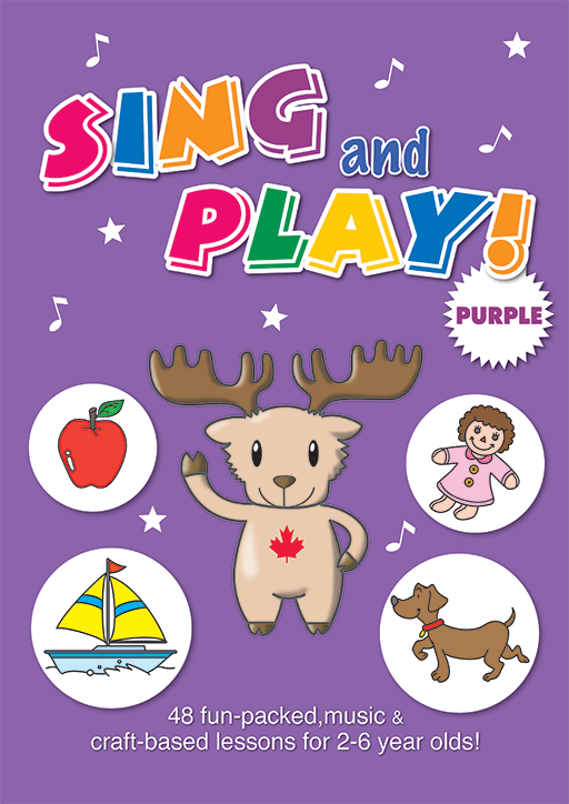 Sing and Play Purple Craft Book
