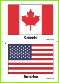 Country Flag Flashcards