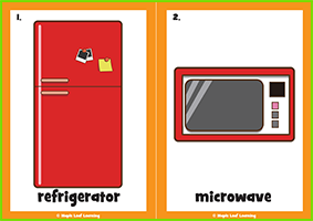 Kitchen Items Flashcards