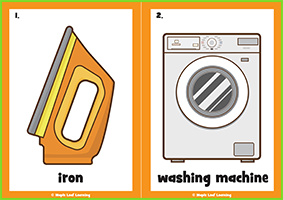 Laundry Room Flashcards