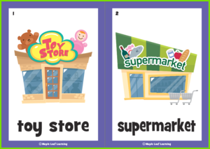 Shopping Flashcards