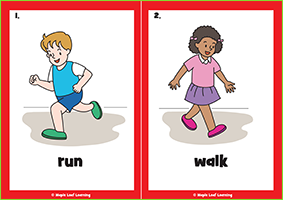 Verbs Flashcards (Everyday English 2)