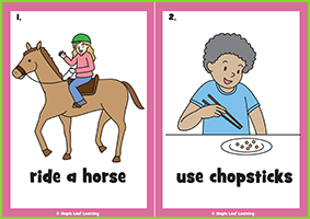 Verbs Flashcards (Everyday English 3)