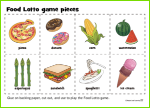 Food Lotto Game