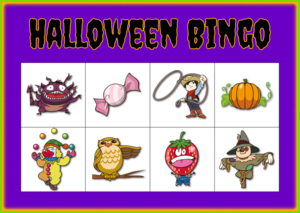 Halloween Bingo (Easy)