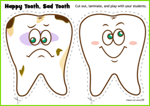 Happy Tooth Sad Tooth Game