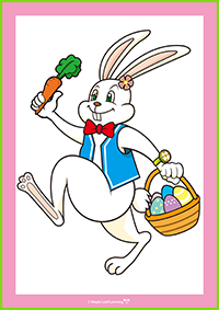 Easter Bunny Card Activity