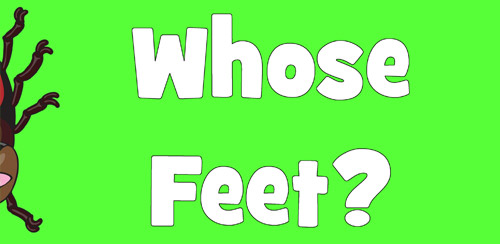Whose Feet App for Kids